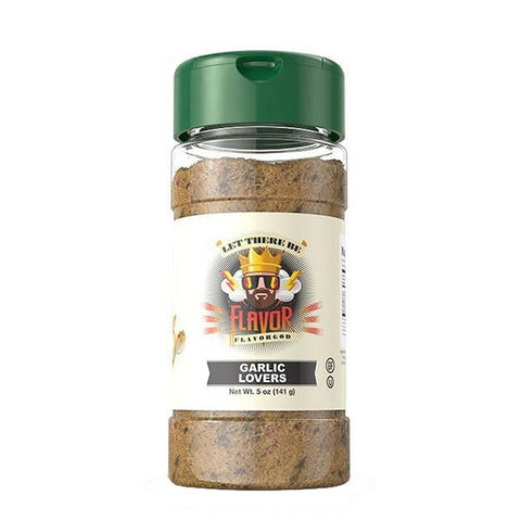 GARLIC LOVERS SEASONING 141g | FLAVOR GOD | Outletintegratori.com