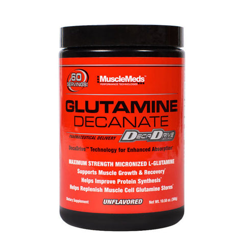 GLUTAMINE DECANATE | MUSCLEMEDS | Outletintegratori.com