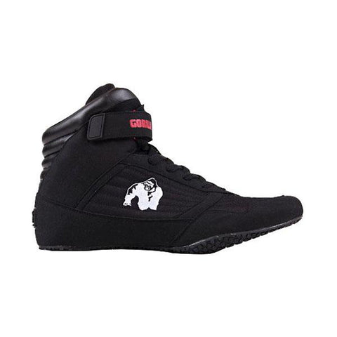 GW GORILLA WEAR HIGH TOPS - BLACK |GORILLA WEAR| Outletintegratori.com