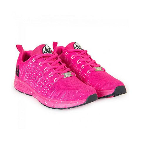 BROOKLYN KNITTED SNEAKERS PINK & WHITE|GORILLA|Outletintegratori.com