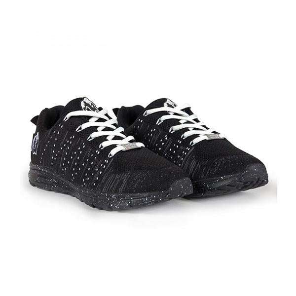 GW BROOKLYN KNITTED SNEAKERS - BLACK & WHITE