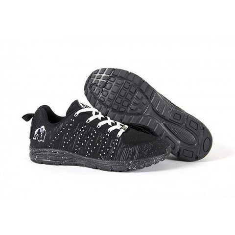 BROOKLYN KNITTED SNEAKERS BLACK & WHITE|GORILLA|Outletintegratori.com
