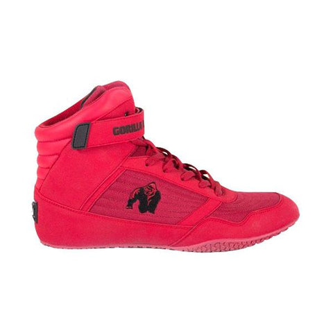 GW GORILLA WEAR HIGH TOPS - RED | GORILLA WEAR | Outletintegratori.com