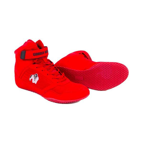 GORILLA WEAR HIGH TOPS-RED & WHITE |GORILLA WEAR|Outletintegratori.com