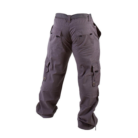 GW HEAVY CARGO PANTS - GREY | GORILLA WEAR | Outletintegratori.com