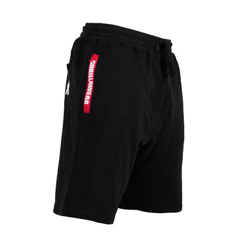 PITTSBURGH SWEAT SHORTS - BLACK | GORILLA WEAR | Outletintegratori.com