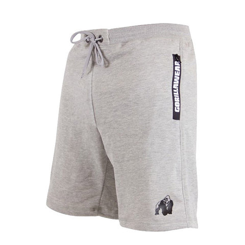 PITTSBURGH SWEAT SHORTS - GREY | GORILLA WEAR | Outletintegratori.com