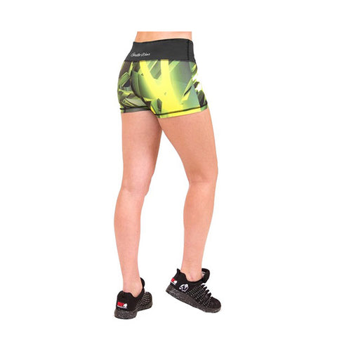GW RENO HOT PANTS - YELLOW | GORILLA WEAR | Outletintegratori.com
