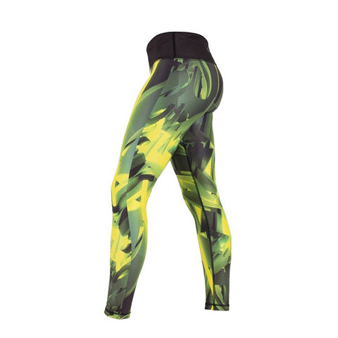 GW RENO TIGHTS - YELLOW | GORILLA WEAR | Outletintegratori.com