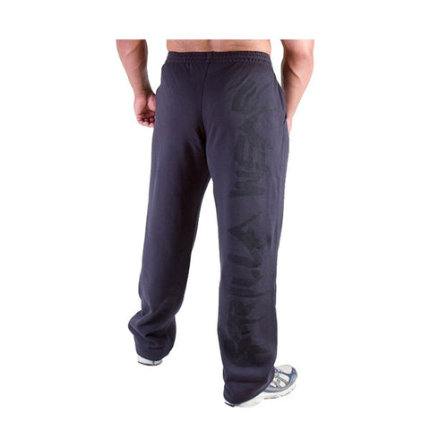SUPERIOR JERSEY PANTS - BLUE NAVY| GORILLA WEAR |Outletintegratori.com
