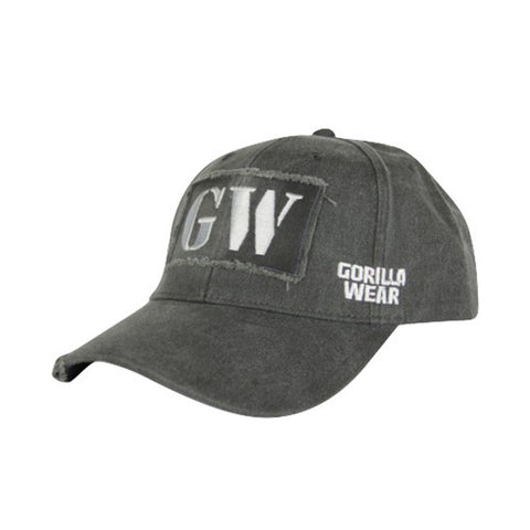 GW WASHED CAP - GREY | GORILLA WEAR | Outletintegratori.com
