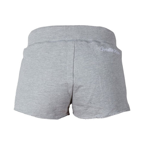 WOMEN'S NEW JERSEY SWEAT SHORTS - BLACK|GORILLA WEAR|Outletintegratori