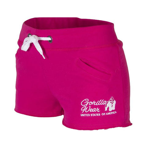 WOMEN'S NEW JERSEY SWEAT SHORTS - PINK |GORILLA WEAR|Outletintegratori