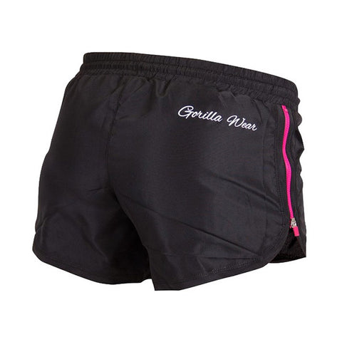 GW WOMEN'S NEW MEXICO SHORTS -BLACK & PINK | GW |Outletintegratori.com