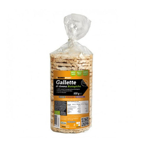 GALLETTE DI AVENA BIOLOGICA 12x100g | NAMED SPORT | Outletintegratori.com