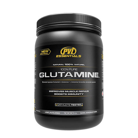 100% PURE GLUTAMINE 1000g | PVL ESSENTIALS | Outletintegratori.com