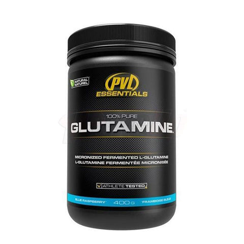 100% PURE GLUTAMINE 400g | PVL ESSENTIALS | Outletintegratori.com