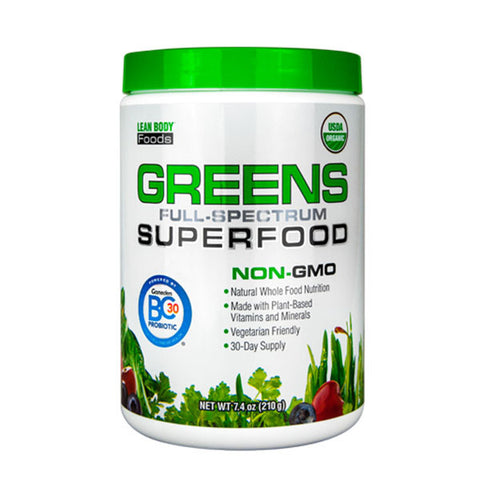 GREENS FULL-SPECTRUM SUPERFOOD | LABRADA | Outletintegratori.com