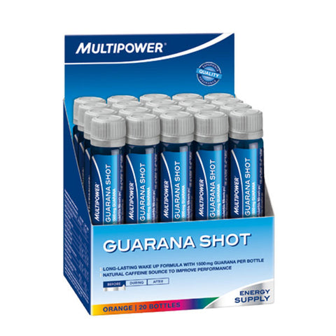 GUARANA SHOT 20x500ml | MULTIPOWER | Outletintegratori.com