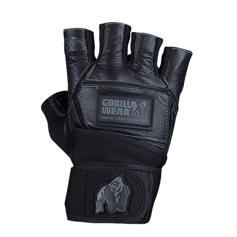 GW HARDCORE WRIST WRAPS GLOVES - BLACK | GORILLA WEAR | Outletintegratori.com