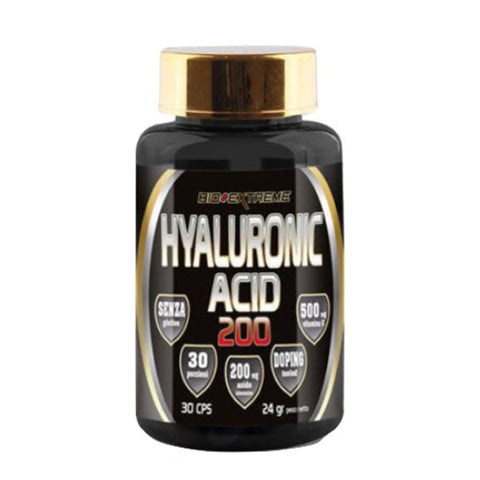 HYALURONIC ACID 200 30 Cps | BIO-EXTREME | Outletintegratori.com