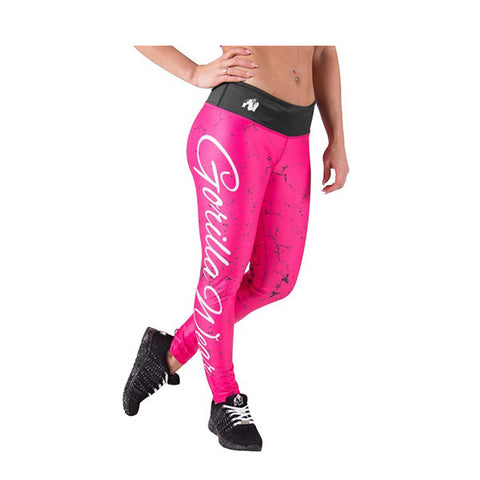 GW HOUSTON TIGHTS - PINK | GORILLA WEAR | Outletintegratori.com