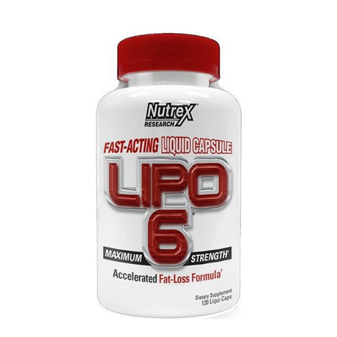 INTERNATIONAL LIPO 6 | NUTREX | Outletintegratori.com