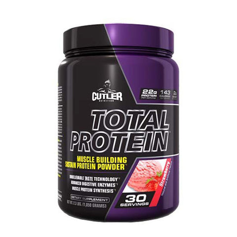 TOTAL PROTEIN 907g | CUTLER NUTRITION | Outletintegratori.com