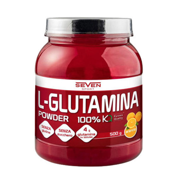 L-GLUTAMINA POWDER 500g | SEVEN NUTRITION | Outletintegratori.com