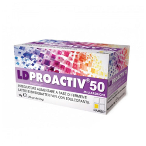 LD PROACTIVE 50 20 Cpr | NAMED SPORT | Outletintegratori.com