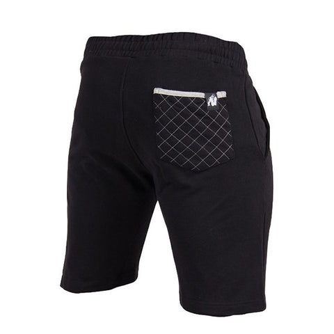 LOS ANGELES SWEAT SHORTS BLACK | GORILLA WEAR | Outletintegratori.com