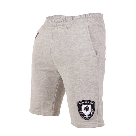 LOS ANGELES SWEAT SHORTS -GREY | GORILLA WEAR | Outletintegratori.com