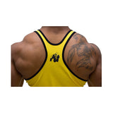LOGO STRINGER TANK TOP YELLOW SUN |GORILLA WEAR| Outletintegratori.com