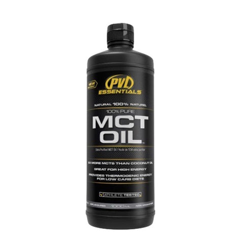 MCT OIL 1000ml | PVL ESSENTIALS | Outletintegratori.com