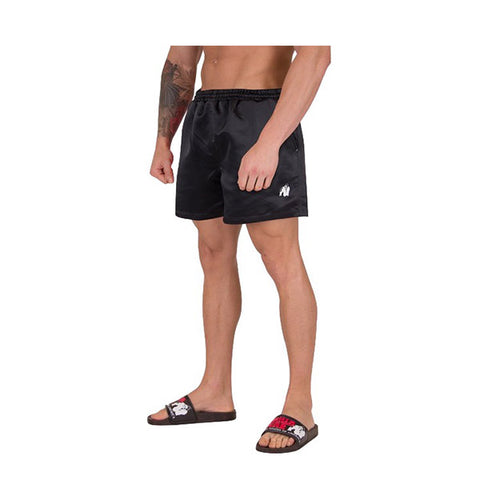 GW MIAMI SHORTS - BLACK | GORILLA WEAR | Outletintegratori.com