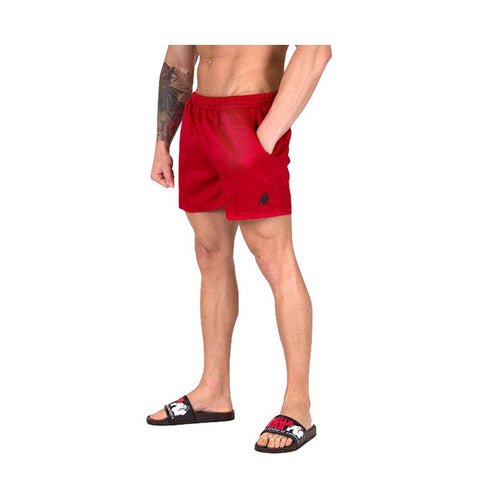 GW MIAMI SHORTS - RED | GORILLA WEAR | Outletintegratori.com