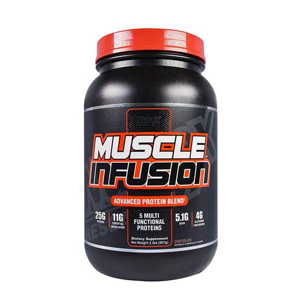 MUSCLE INFUSION 907g | NUTREX | Outletintegratori.com