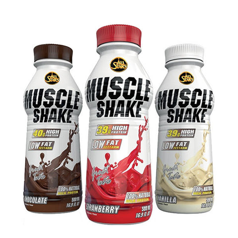 MUSCLE SHAKE | ALL STARS | Outletintegratori.com