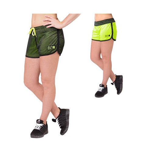 MADISON REVERSIBLE SHORTS BLACK-NEON LIME | GW | Outletintegratori.com