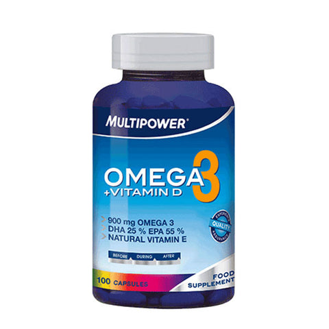 OMEGA3 + VITAMINA D 100 Cps | MULTIPOWER | Outletintegratori.com