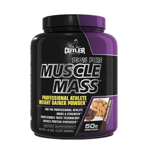 100% PURE MUSCLE MASS GAINER CHOCOLATE | CUTLER NUTRITION | Outletintegratori.com