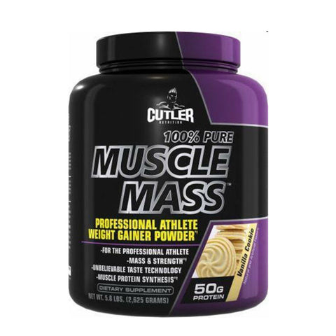 100% PURE MUSCLE MASS GAINER VANILLA | CUTLER NUTRITION | Outletintegratori.com