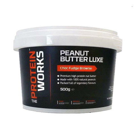 PEANUT BUTTER LUXE 500g | THE PROTEIN WORKS | Outletintegratori.com