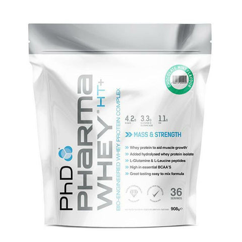 PHARMA WHEY HT+ 908g Chocolate Mint | PhD | Outletintegratori.com