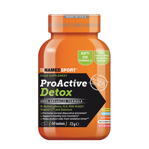 PROACTIVE DETOX 60 Cpr | NAMED SPORT | Outletintegratori.com