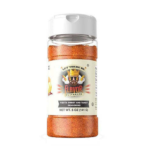 FIESTA SWEET AND TANGY SEASONING 141g | FLAVOR GOD | Outletintegratori.com