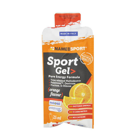 SPORT GEL 15x25ml | NAMED SPORT | Outletintegratori.com