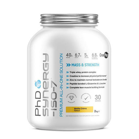 SYNERGY-ISO-7 2.000kg Vanilla Crème | PhD | Outletintegratori.com