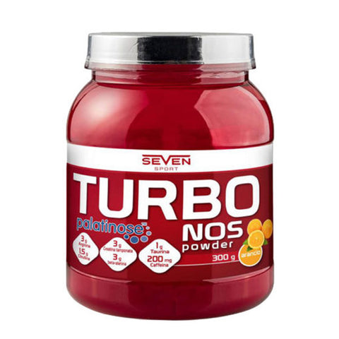 TURBO NOS POWDER 300g | SEVEN NUTRITION | Outletintegratori.com