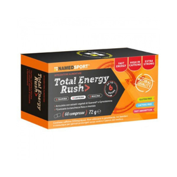 TOTAL ENERGY RUSH 60 Cpr | NAMED SPORT | Outletintegratori.com